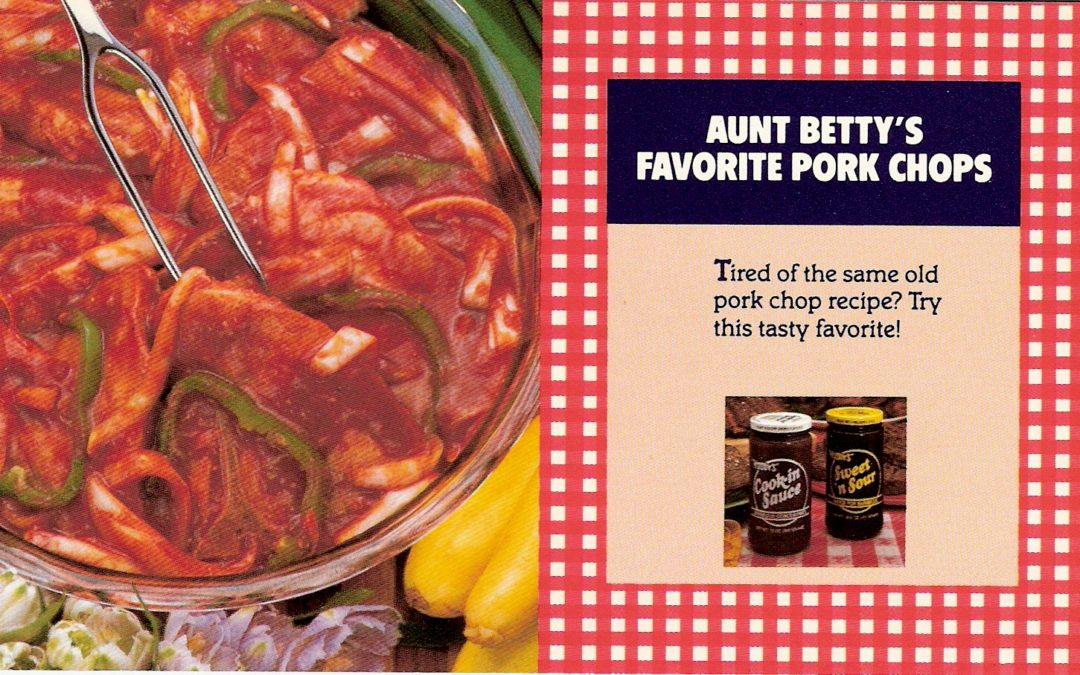Aunt Betty's Favorite Pork Chops