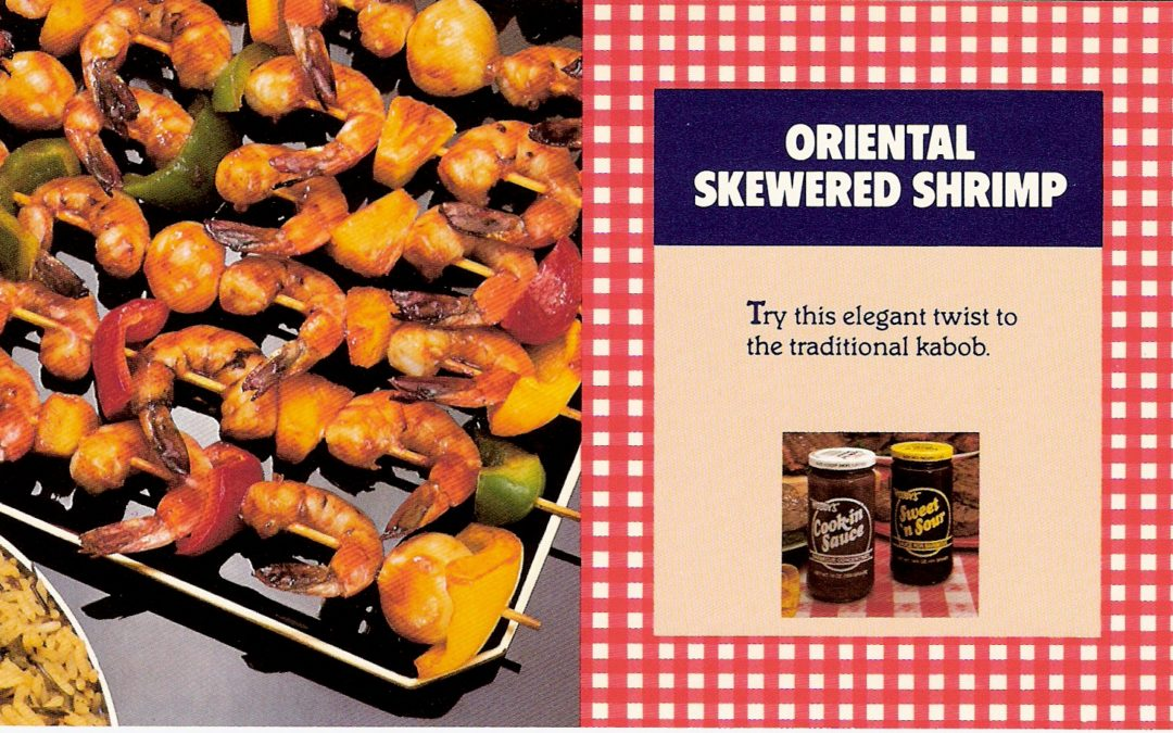 Oriental Skewered Shrimp