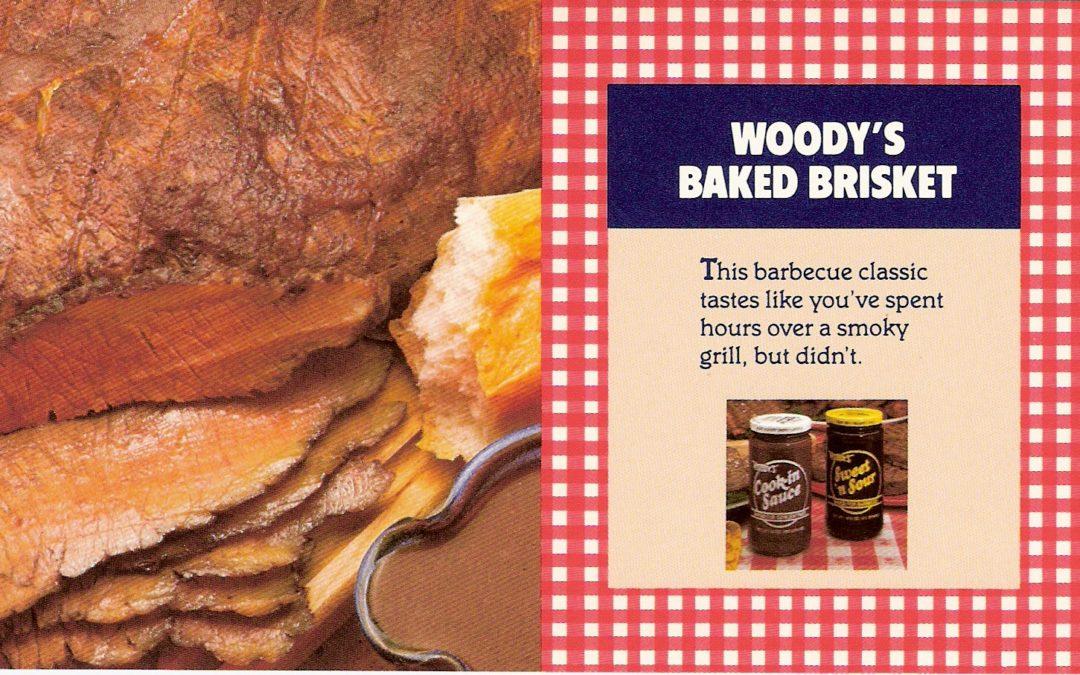 Woody's Baked Brisket